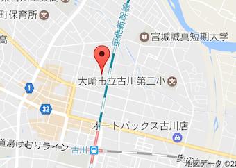 大崎市地図
