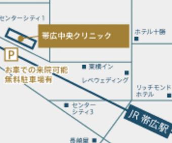 帯広中央地図
