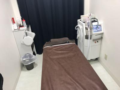 ゴリラクリニックの施術室