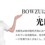 BOWZUのヘッド画像